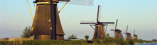 tanie bilety lotnicze - loty do Holandii